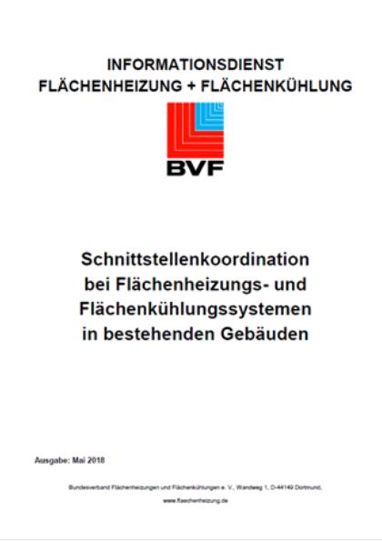 Schnittstellenkoordination Bei Flächenheizungs – Und Flächenkühlungssystemen In Bestehenden Gebäuden