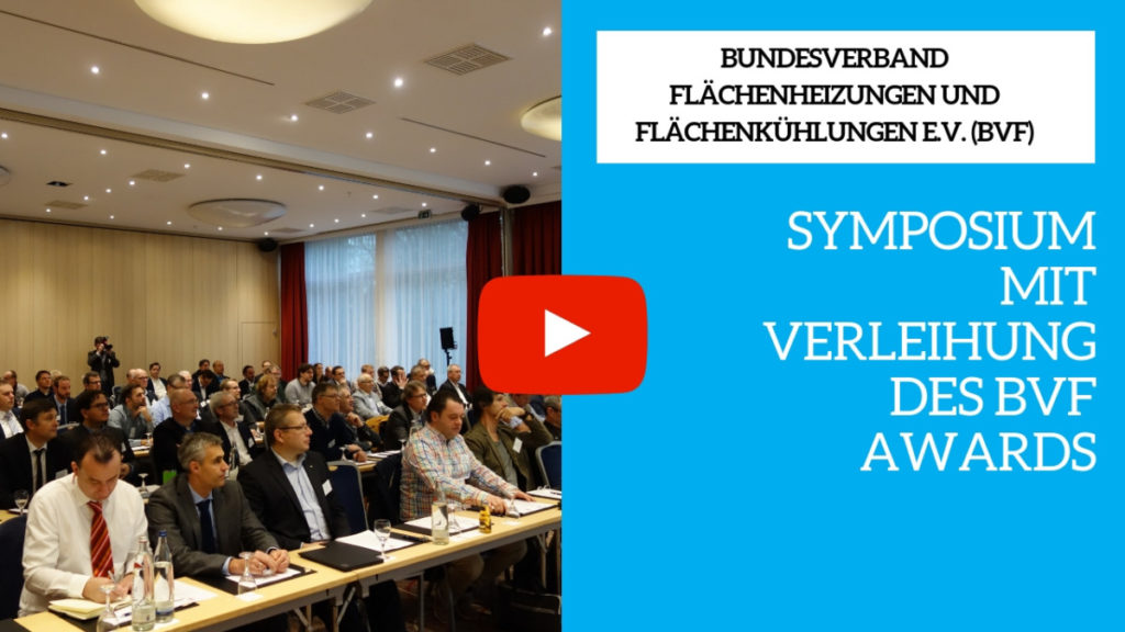 BVF Symposium mit Verleihung des BVF Awards
