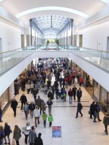 Das Einkaufszentrum Citti-Park in Flensburg bietet 60 Geschäfte auf 22.300 Quadratmetern Verkaufsfläche. (Foto: Citti-Park)