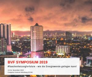 BVF Symposium 2019 - #flaechenheizungforfuture