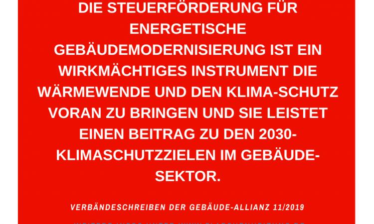 Die Steuerförderung Für Energetische Gebäudemodernisierung Ist Ein Wirkmächtiges Instrument, Die Wärmewende Und Den Klima-schutz Voran Zu Bringen Und Sie Leistet Einen Beitrag Zu Den 2030-Klimaschutzzielen Im Gebäudesektor.