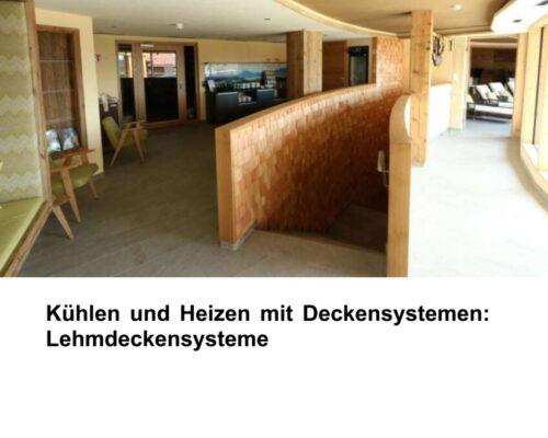 Kühlen Und Heizen Mit Deckensystemen: Lehmdeckensysteme