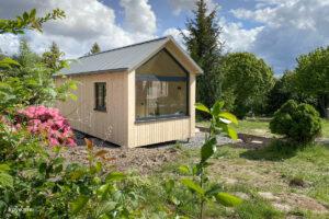 Bild 1: Autarkie auf kleinem Grund: Tiny Houses erfreuen sich stetig wachsender Beliebtheit (Bild: koye.me)