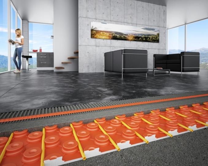 <p>Der Keramik-KlimabodenSchlüter®-BEKOTEC-THERM sorgt dank seines dünnschichtigen Aufbaus schnell für wohlige Wärme und ein angenehmes Raumklima – und das bei niedrigen Vorlauftemperaturen und entsprechend geringem Energieverbrauch.</p>