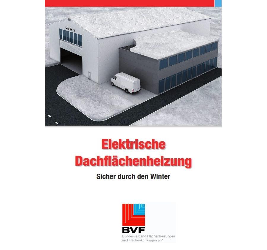 BVF-Broschüre elektrische Dachflächenheizung