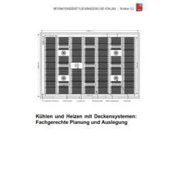 Richtlinie 15.2 - Kühlen und Heizen mit Deckensystemen: Fachgerechte Planung und Auslegung