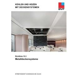 Richtlinie 15.3:  Metalldeckensysteme